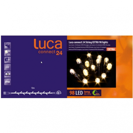 Luca connect 24 led 98 lampjes extra - afbeelding 1